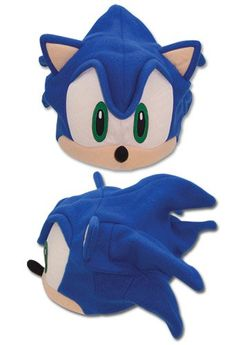 "REAL AUTHENTIC Sonic the Hedgehog White Cosplay 11/"" Plush Soft Gloves GE-8805"