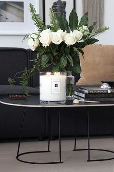 TDC: Jo Malone London Personalised Luxury Candle & Flowers from Bloom Social
