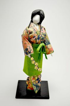 Japanese Washi Paper Doll  Lady with Sakura by TheEasternTouch, $200.00