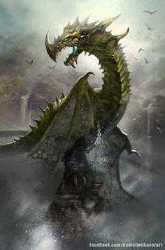 Dragon by danielmchavez – Daniel M Chavez – CGHUB