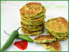 Savory Cauliflower and Broccoli Pancakes (Low Carb) Recipe on Yummly. @yummly #recipe