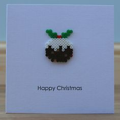 All of me: Hama Bead Christmas Puddings