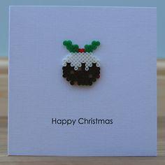 All of me: Hama Bead Christmas Puddings