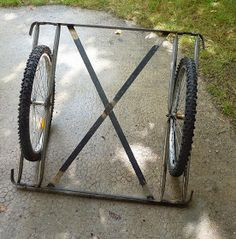 Canoe Cart, Bike Cart, Chariot Velo, Bike Cargo Trailer, Bicycle Sidecar, Bike Parade, Food Cart Design, Velo Cargo, Coffee Van