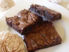pepermintové brownies