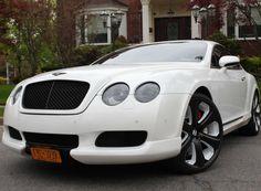 Custom Kahn Design Bentley Continental GT. Look at those wheels! Immense! #spon