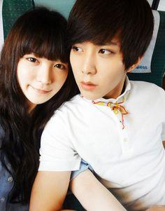 Park Ji Ho and Ryu Hye Ju