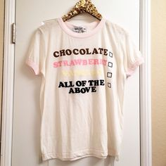 •WILDFOX• All Of The Above Ice Cream New with tags. Also have size small Wildfox Tops Tees - Short Sleeve