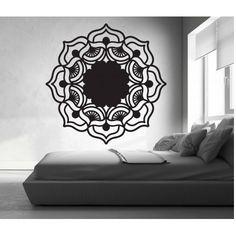 Mandala růže života kulatá dřevěný obraz na stěnu z překližky MIREK Stencil, House, Vintage, Mandala, Home Decor, Dekoration, Decoration Home, Home, Room Decor