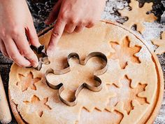 Klassischer Plätzchenteig Rezept | LECKER Cake Pops, Parfait, Apple Pie, Crepes, Biscotti, Xmas, Christmas, Food And Drink, Muffins