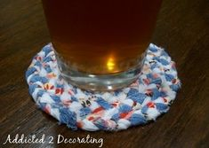 Braided Fabric Coasters