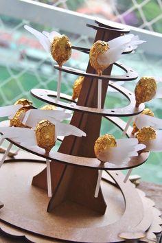 Golden Snitch Pops from a Harry Potter Birthday Party via Kara's Party Ideas | KarasPartyIdeas.com (28)