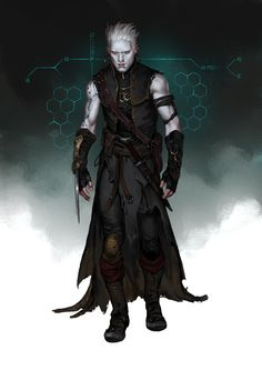 Fantasy Character Design, Character Concept, Character Inspiration, Character Art, Concept Art, Fantasy Art Men, Fantasy Rpg, Medieval Fantasy, Fantasy Weapons