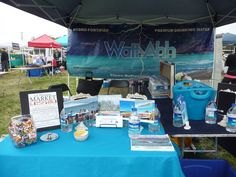 The AquaNew booth at EcoFest Sarasota 2015 #wattahh #aquanew