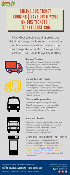 45 Best Bus Ticket Booking images in 2019 | Bus tickets, Tours, Travel