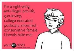 Proud Conservative Woman