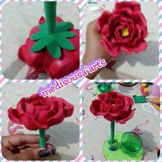 Rosas na caneta ( sem frizadores)