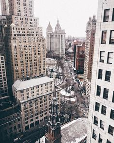 Manhattan, New York   pinterest: @Blancazh