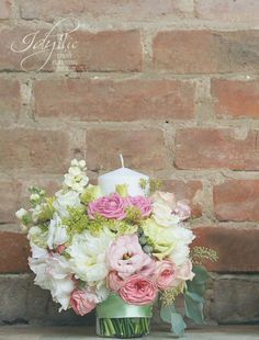 Lumanari ceremonie nunta - design floral Idyllic Events