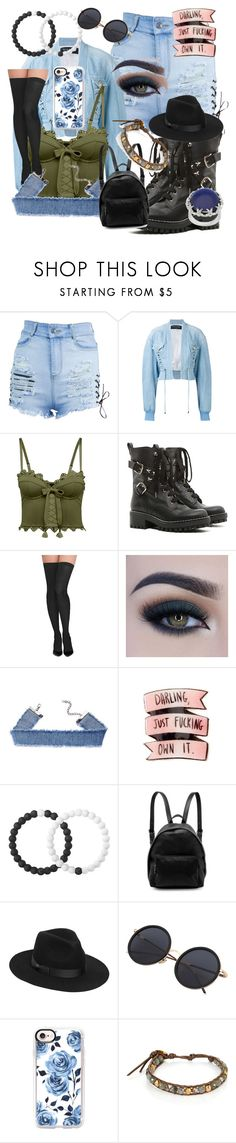 """Own it"" by lady-evelena-of-the-woods-beyond on Polyvore featuring Balmain, Puma, RED Valentino, Commando, Too Faced Cosmetics, Lokai, STELLA McCARTNEY, Lack of Color, Casetify and Chan Luu"