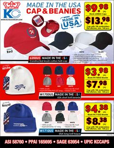 Made in the USA Caps & Beanies