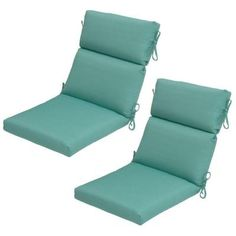 Attractive Hampton Bay Haze Dupione Rapid Dry Deluxe Outdoor Dining Chair Cushion The Home  Depot