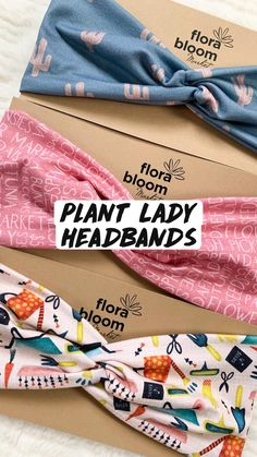 Tie Headband, Cute Headbands, Headbands For Women, Headband Hairstyles, Comfy Casual, More Cute, Top Knot, House Plants, Planting Flowers