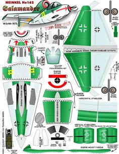 Развертки самолетов Paper Airplane Models, Airplane Toys, Model Airplanes, Paper Planes, Kirigami, Cardboard Toys, Paper Toys, Photo Avion, Paper Aircraft