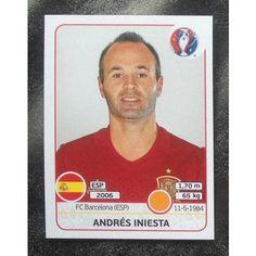 Football Soccer Sticker Panini UEFA Euro 2016 #363 Spain