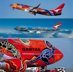 """Qantas- """"Wunala Dreaming"""" Freight Forwarder, Freight Truck, Australian Airlines, Commercial Plane, Best Airlines, Air New Zealand, Private Plane, World Pictures, Boeing 747"""