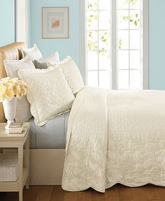 Martha Stewart Collection Pressed Flowers Standard Sham