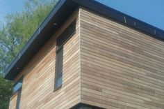 CFP Cladding & Decking torrefied wood siding made from North American Ash. Visit www.cherryforest.ca