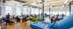 Growing Manchester influencer marketing agency, Social Chain has relocated its headquarters to a customised sq ft office space in Bruntwood's West Village. Building Development, Workspace Design, West Village, Influencer Marketing, Life Science, Health And Wellbeing, Good Mood, Workplace, Equality