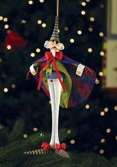 Patience Brewster Krinkles Nutcracker Ballet Drosselmeyer Christmas Ornament