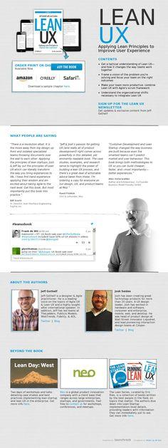 The website 'http://www.leanuxbook.com/' courtesy of @Pinstamatic (http://pinstamatic.com)