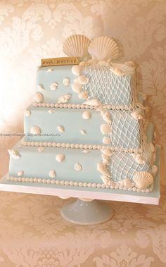 Wedding ● Cake ● Beach Theme