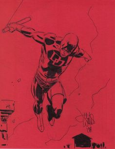 Daredevil by Lee Weeks
