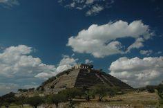 La pirámide de El Pueblito en Querétaro