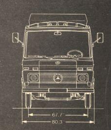 Mercedes Benz 309 D, 408 D, 608 D Busses and Vans Parts