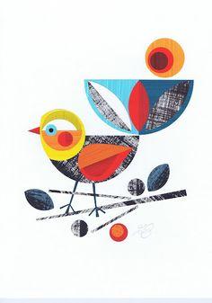 bird collage - ellen giggenbach