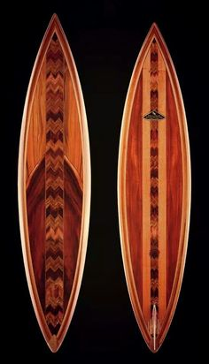 Koa Wood Surfboards