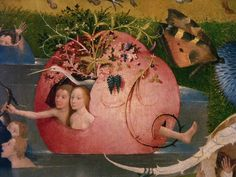 Le Jardin des délices - Hieronymus Bosch (Hertogenbosch Hasburg) aka Jérôme or Jheronimus van Aken Bosch. Hieronymus Bosch, Renaissance Artists, Renaissance Paintings, Garden Of Earthly Delights, Dutch Painters, Dutch Artists, Famous Artists, Medieval Art, Fantastic Art