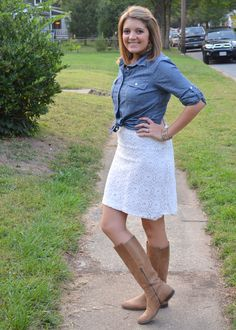 Five MORE Ways to Wear Chambray - Fizz and Frosting
