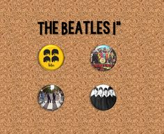 "The Beatles - 1.75"" Pinback Buttons"