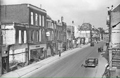 Steenstraat, Arnhem, the Netherlands after WWII