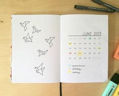 """86 Likes, 7 Comments - Ampersand by Kiki B (@ampersand.by.kiki.b) on Instagram: """"Hey party people, what are you doing in your bullet journals for June? I'd love to see, so tag me…"""""""