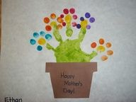 Happy Mothers Day handprint craft