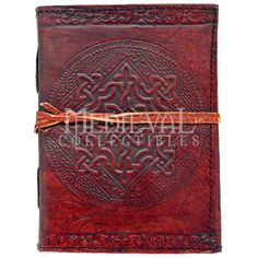 Celtic Knot Leather Journal - 060-2226 by Medieval Collectibles