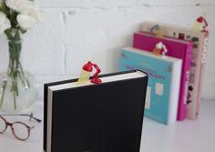 Lightmark Reading Lamp Bookmark Red  by Peleg Design