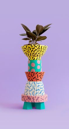 Pattern Planter by Spencer Harrison